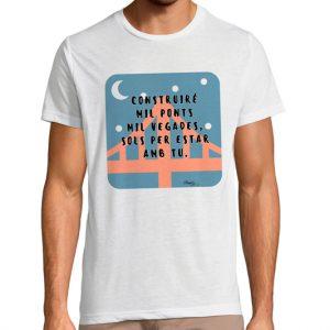 Camiseta «Contruiré mil ponts»